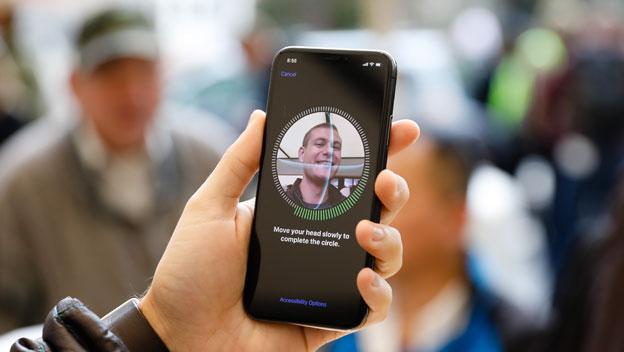 reconocimiento facial iphone x