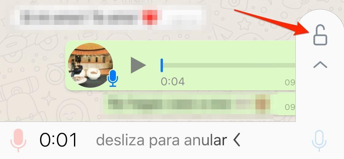 whatsapp manos libres