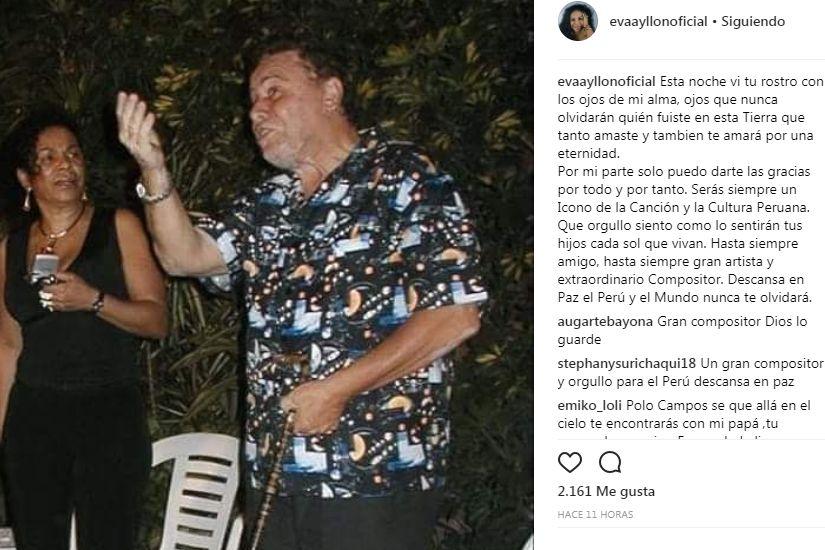 Eva Ayllón y Augusto Polo Campos