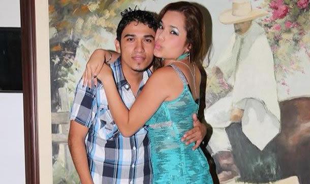 Frank Mendoza y Lesly Águila